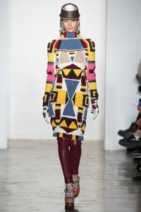 "Brand KTZ's Fall/Winter line at New York Fashion Week was ""a tribute"" to Indigenous peoples."