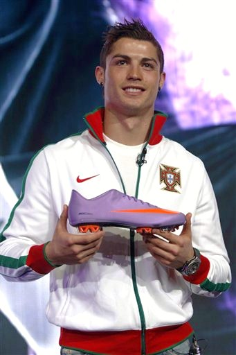 cr7 nike contract