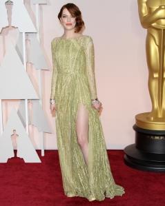 Emma Stone in Elie Saab - 2015 Oscars