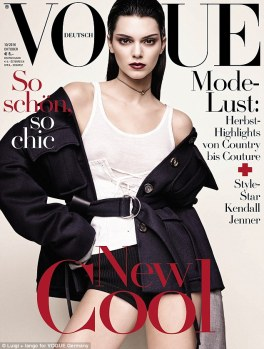 Germany October vogue issue