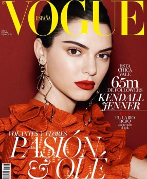 Spain October vogue issue